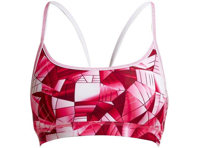 Funkita Sports Bikini Top Damen pink pane